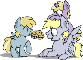 We Baked You a Muffin Pie! by Graciegirl328