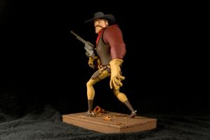 The Gunfighter-painted08 by clarkartist