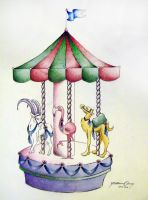 Carousel 2 by PinkBunnie
