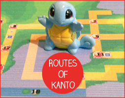 Routes of Kanto Banner by DokGilda