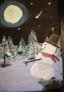 Snowman by Shottis