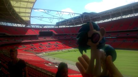 Vinyl Scratch in Wembley Stadium by Jacko247
