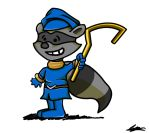 Sly Cooper - Charles Schulz (JAC Challenge) by Adam-Clowery