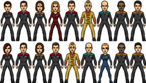 Star Trek Voyager by SpiderTrekfan616