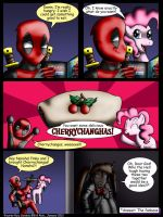 Deadpool and Nanoha issue 8 by Evil-Rick