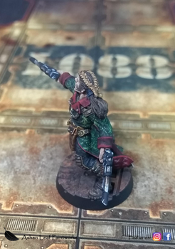 Kal Jerico by AshenLeafPaintworks