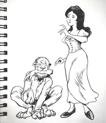 Inktober day 28 by thehorribleman