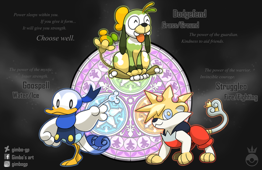 Dive into the heart - choose your starter! by gimbo-gp