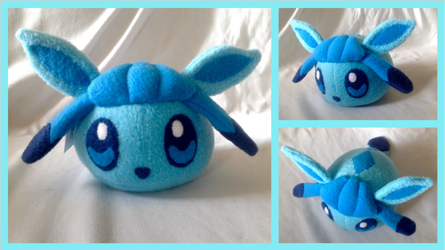 Glaceon Plush is Available!! by BritneySpangenberg