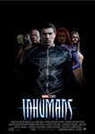 Marvel's Inhumans movie poster by ArkhamNatic