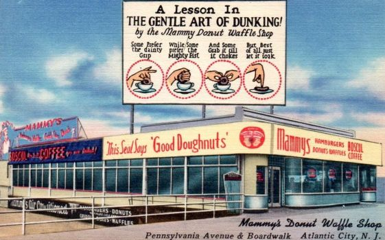 Vintage New Jersey - The Gentle Art of Dunking by Yesterdays-Paper