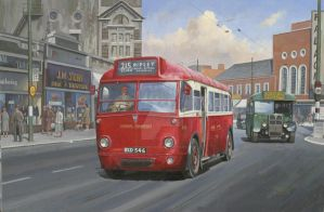 London Transport AEC Q type. by Artistjeffries