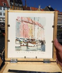 Copenhagen Watercolour sketch by MarcoBucci