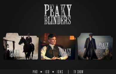 Peaky Blinders Folder Icon by Eanzito
