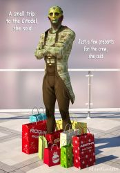 Never Go Shopping with Shepard by Mordinette