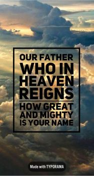 Father You Are All We Need by ChristLover526