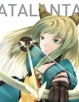Fate/Apocrypha:: Atalanta by caylren