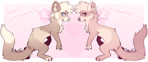 -OTA- sweetheart ferrets adopts ||CLOSED|| by stayria