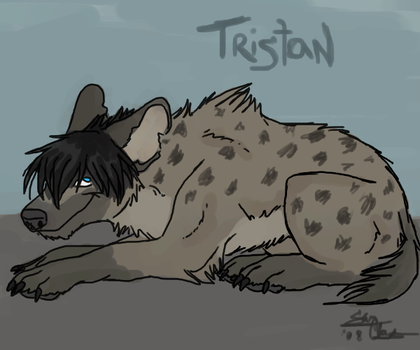 Tristan the hyena by Thechemist57