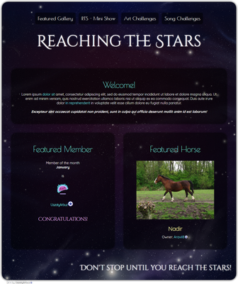 Reaching the Stars group profile by UszatyArbuz