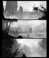 Landscapes_ speedpaint by ldimonl