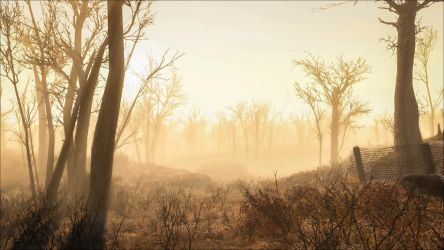 Morning Mist in the Wasteland by Aenea-Jones