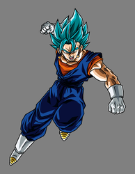 Vegetto Super Saiyan God Super Saiyan by hsvhrt