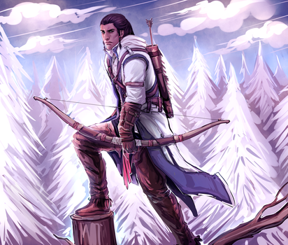 AC3: Connor by moni158