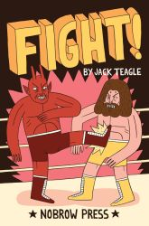 Fight Issue 1 Cover by Teagle