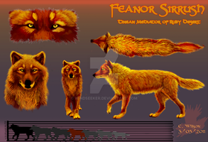 Feanor Character Sheet by WindSeeker