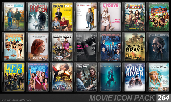 Movie Icon Pack 264 by FirstLine1