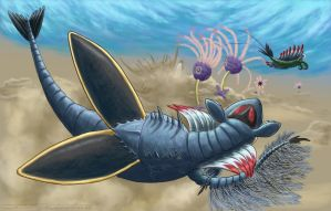 Cambrian was when we had our aliens