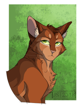 Firestar Doodle (+speedpaint) by th1stlew1ng