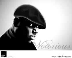Notorious B.I.G. by VisionHaus