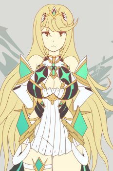 Mythra by RayDango