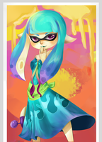 Inkling in a Dress by AriSotnia