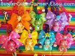 Care Bear Necklaces by lessthan3chrissy