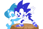 [Redo] ''Thank you, Sonic'' by PrettySoldierPetite