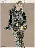 30 Characters 3 - Colem Cready by DanielGovar