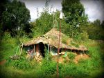 roundhouse in the garden by gangahimalaya