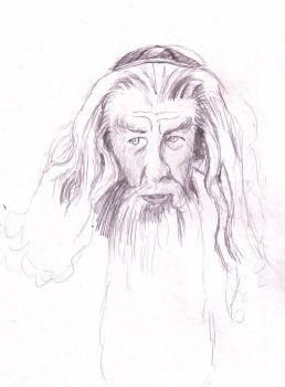 Gandalf the Jew by kalany