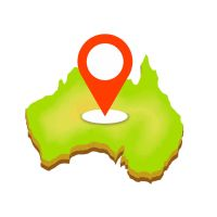 BACKGROUND AUSTRALIA ROUTE POINT by Dubov0