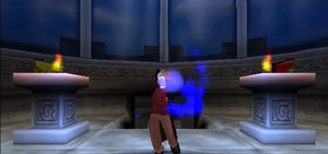 Harry Potter PS1 Hogwarts Tower Secret Room 1 of 2 by Daxx-Lorenzo