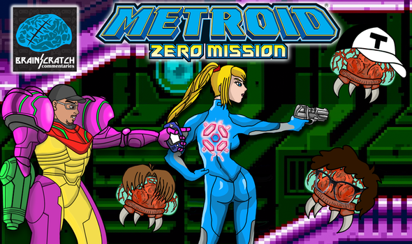 BrainScratchComms - Zero Mission Thumbnail by Dbzbabe