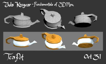 Tea shop Prop 1 - Teapot (updated) by MusicalNumber