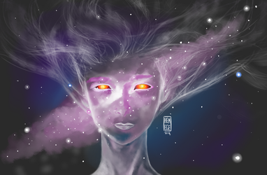 Space Girl by LHPegg