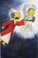 The Simpsons Christmas Carol by CANGOMI