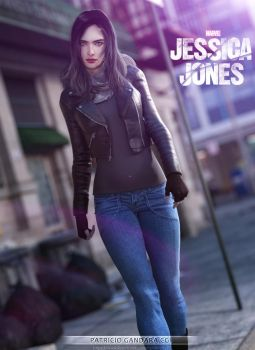 Jessica Jones by PGandara