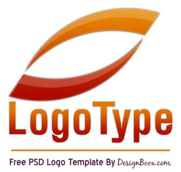 Orange Logo PSD Template by MansyDesignTools