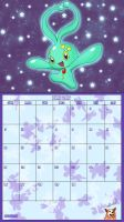 Pokemon 20th Anniversary Calender - June 2016 by AusLove